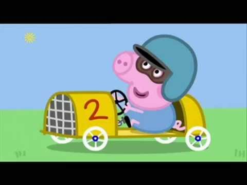 Peppa Pig George S Racing Car
