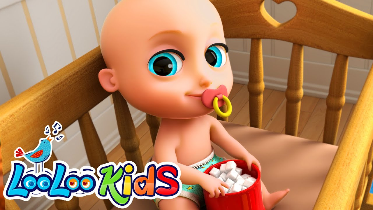 Johny Johny Yes Papa 👶 THE BEST Song for Children | LooLoo Kids