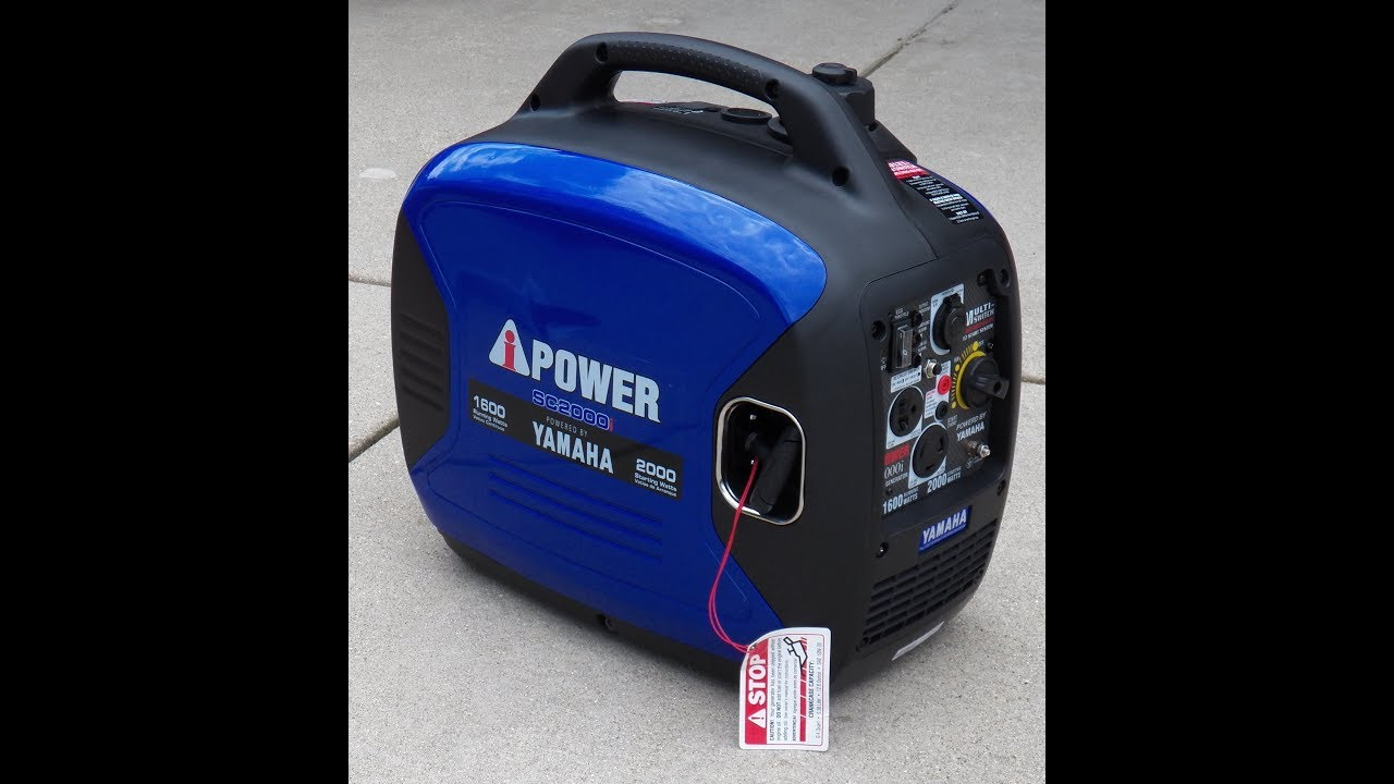 A iPower Yamaha Powered SC2000i 2000 Watt Inverter Generator Quick Review