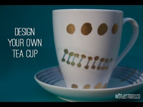 Tea Cup Makeover By Wondermint Kids Youtube