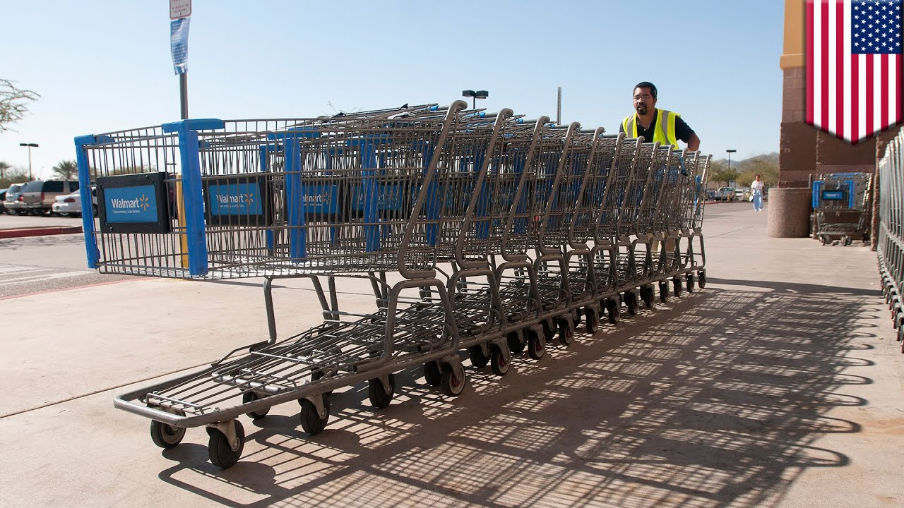 Self-driving shopping carts: Walmart patents completely unnecessary ...