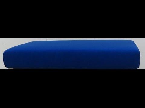 Verbazingwekkend Een Rechthoek Kussen Op Een Plank Maken - YouTube IO-21