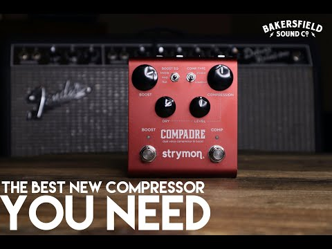 The Best New Compressor Pedal YOU NEED - Strymon Compadre & Boost Demo