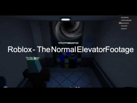 the normal elevator code roblox