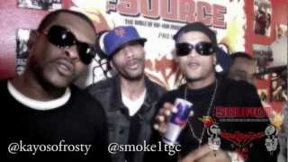A$AP Rocky Purple Swag remix by Frosty Boyz  The Source Magazine Spit 16 Brooklyn Stand Up