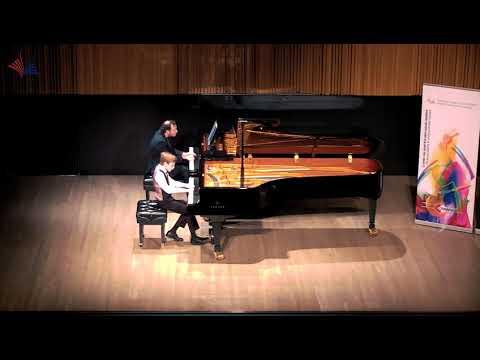 Daniel Alter - Mozart Piano Concerto No 23 - CMC National Finals 2018 (age 10 category)