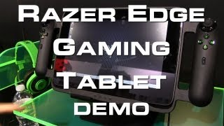 Razer Edge Gaming Tablet Demo