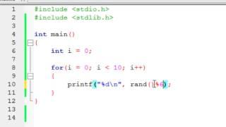 LANGAGE C - 24 - Génération de nombres aléatoires avec rand()