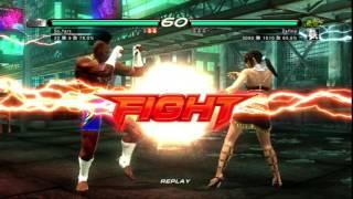 鉄拳 6 tekken ブルース vs ザフィーナ
