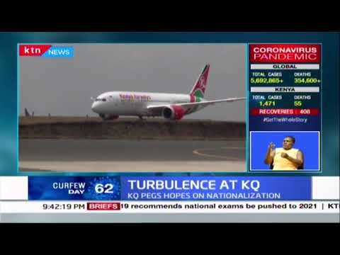 Turbulence at KQ: National carrier posts KSH. 12.9B loss as revenues go up by 12.8%