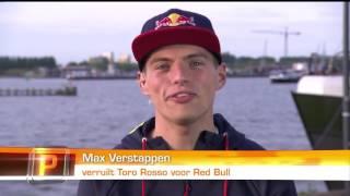 Max Verstappen bij Peptalk 9 5 2016