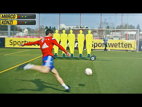 FC Bayern vs freekickerz • Free Kick Challenge