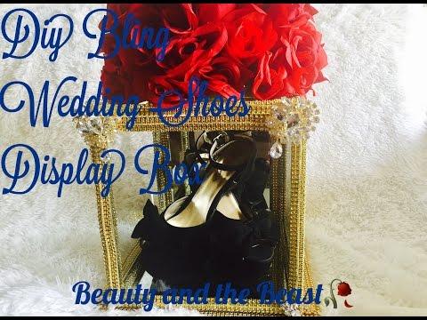 DIY Wedding Shoes 👠👠 Display Box/ DIY Bride Series(part 5) Beauty and the Beast