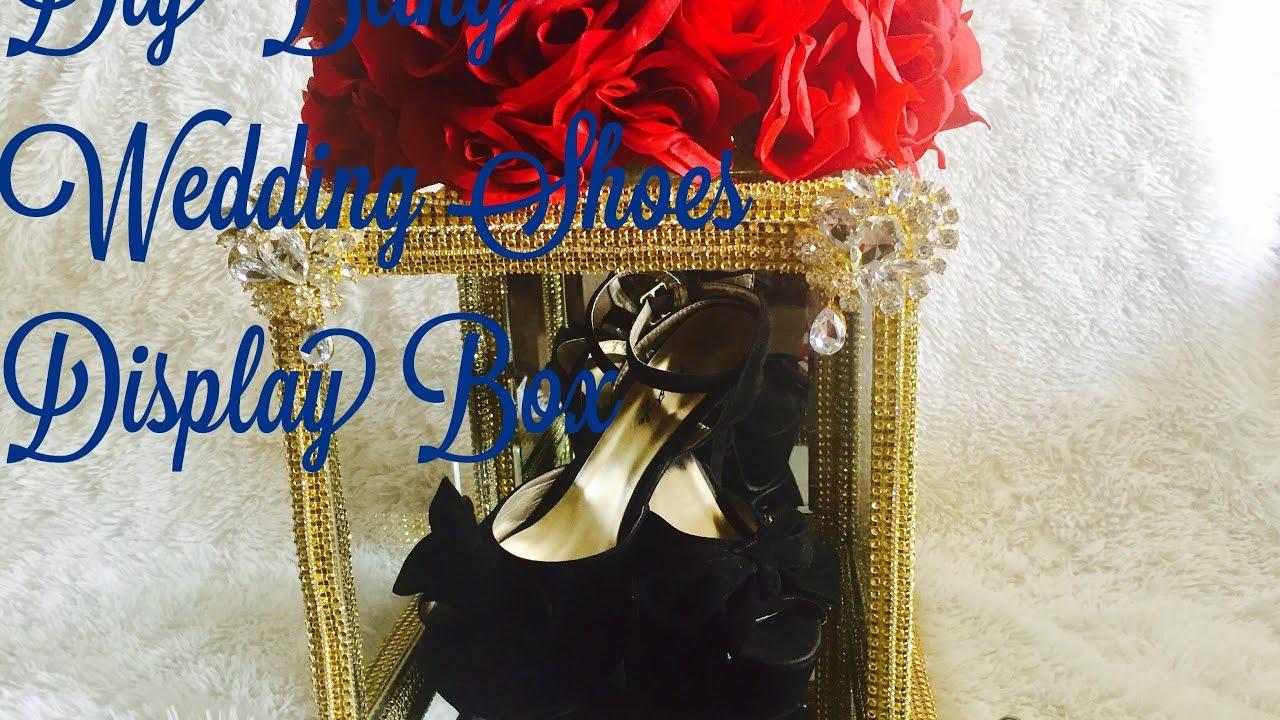 Diy Wedding Shoes Display Box Diy Bride Seriespart 5 Beauty