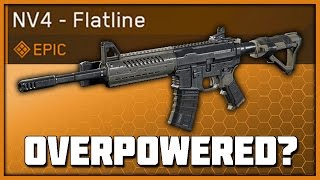 Is The NV4 Flatline OP Infinite Warfare Variant Stats  Review