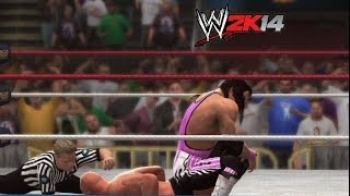 """WWE 2K14"" How-To: Bret Hart vs. ""Stone Cold"" Steve Austin at WrestleMania 13"
