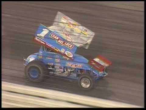The World of Outlaws visit the Sprint Car Capital of the World in 1999 for the Ethanol Classic Twin Features event! The first 25 lap main event is won by Danny ... - dirt track racing video image