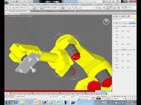 3dsMax Training for Inventor User: 02 Robot