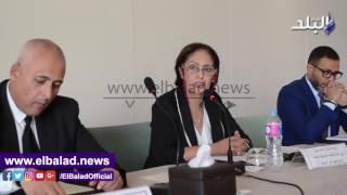 نائلة جبر: نحتاج لجهود دولية ووطنية للقضاء على الهجرة غير الشرعية .. فيديو صور
