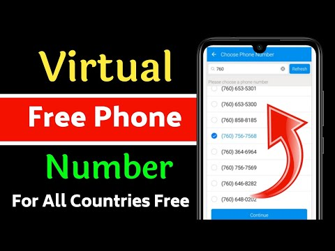 How to get free phone numbers india,uk,Germany,itly and any country free...