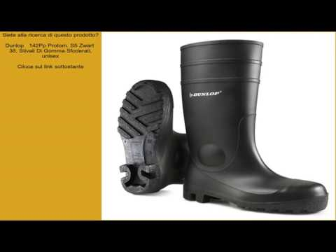 comprare on line a4ec4 ad77e Dunlop 142Pp Protom. S5 Zwart 38, Stivali Di Gomma Sfoderati ...