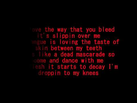 Escape the Fate- Zombie Dance (lyrics)