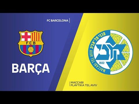 FC Barcelona - Maccabi Playtika Tel Aviv Highlights | EuroLeague, RS Round 15