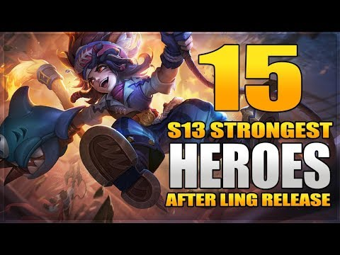 15 Strongest Heroes Best For Solo Ranking In Mobile Legends After Ling Release