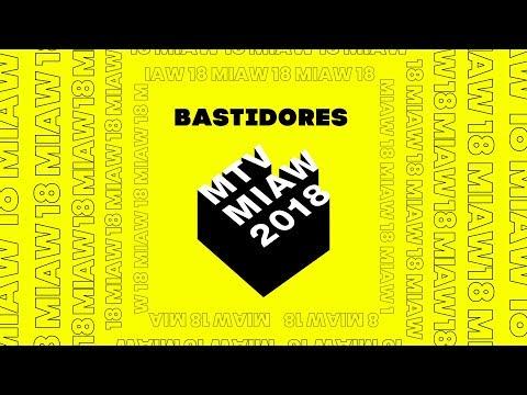 BECCA PIRES E CID NÃO SALVO AO VIVO NOS BASTIDORES DO MTV MIAW 2018