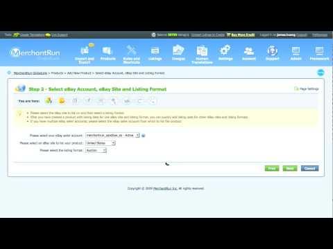 GlobalLink: Adding Multiple eBay Accounts
