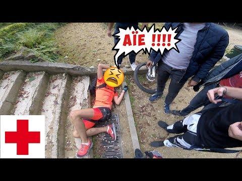 ÇA FAIT MAL !! VTT URBAIN  - RASSEMBLEMENT À BRUXELLES 🍟