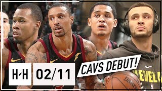 Cavaliers NEW Players Official Debut vs Celtics (2018.02.11) - Clarkson, Hill, Hood & Nance Jr.!