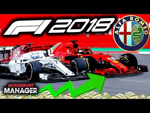 RACING THE TOP GUYS AT ROSBERG'S HOME RACE! - F1 2018 Alfa Romeo Manager Career Part 41