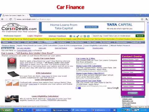 Calculate Car Loan EMI and Down payment  ZigWheels