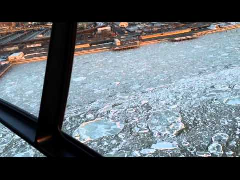 Landing at the W. 30th St Manhattan heliport on Blade/Liberty Helicopter.  6 min from EWR!