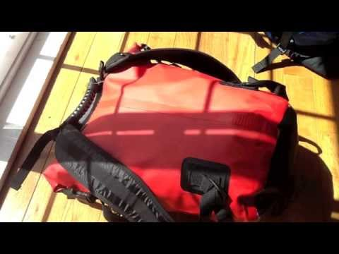 FloatSack 100% Waterproof Backpack Dry Bag Review - YouTube