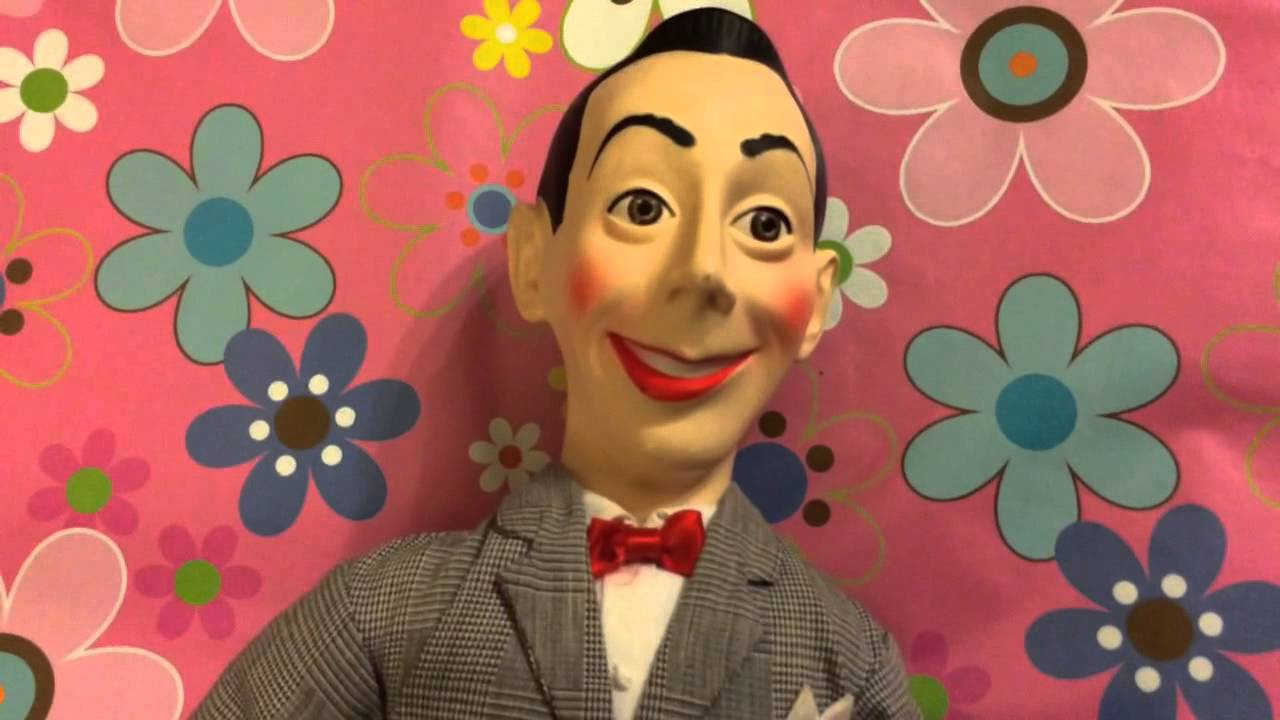 alasdair 39 s personalized pee wee herman talking doll youtube. Black Bedroom Furniture Sets. Home Design Ideas