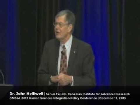 The Truth About Happiness - John Helliwell - 2013 OMSSAHSI