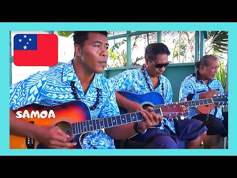 SAMOA, fantastic traditional singing and dancing in APIA (PACIFIC OCEAN)