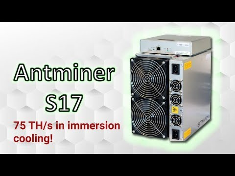 Antminer S17 75 TH/s In Beeminer Immersion Cooling Mining Farm