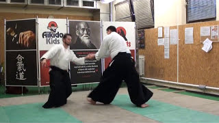 ryotedori kotegaeshi 2 variation [TUTORIAL] Aikido basic technique