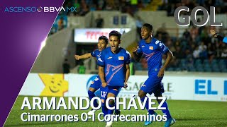 Gol de A. Chávez | Cimarrones  0 - 1 Correcaminos | Ascenso BBVA MX - Clausura 2020