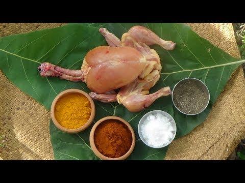 Village Foods ❤ Full Chicken Gravy Prepared In My Village By Grandma
