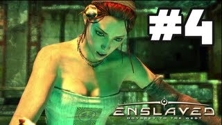 Enslaved Odyssey to the West - Gameplay Walkthrough Part 4 - Chapter 4: Wherefore Art Thou? [HD] Xbox 360 PS3