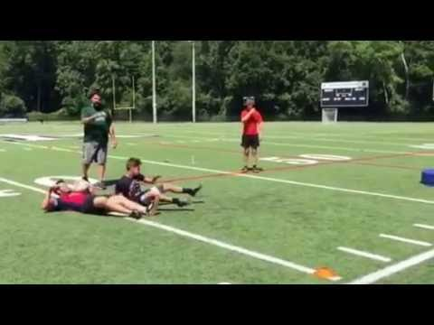"""Finish"" the tackle drill"