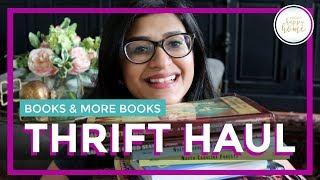 BOOK HAUL || HOMESCHOOLING HAUL || THRIFT HAUL