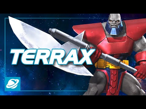 Terrax Special Moves | Marvel Contest Of Champions