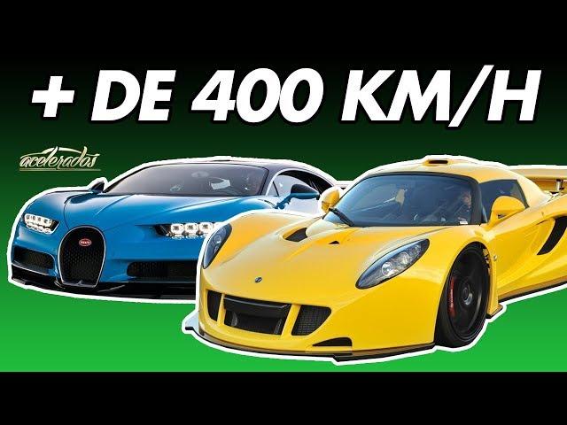 Top 5 carros mais rápidos do mundo! - AceleLista #55 | Acelerados