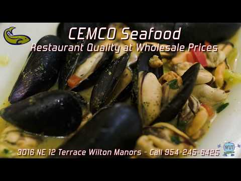 Cemco Wholesale Seafood DELIVERY of Fort Lauderdale