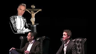Jordan Peterson pulls Christianity out of Sam Harris' reductionist hat